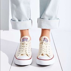 Converse Shoes | Ivory Low Top Converse